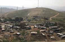 Israel dừng kế hoạch phá hủy ngôi làng của người Bedouin ở Bờ Tây