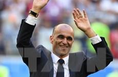 Huấn luyện viên Martinez hài lòng với thành tích của tuyển Bỉ