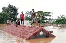 Vỡ đập thủy điện ở Lào: Dân ở hạ lưu được thông báo sơ tán trước sự cố