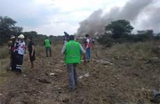 Máy bay Embraer 190 chở hơn 100 hành khách rơi ở Mexico