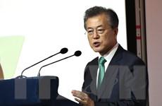 Tỷ lệ ủng hộ Tổng thống Hàn Quốc rơi xuống mức kỷ lục 58%