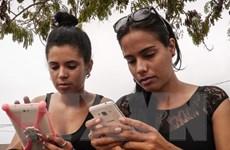 Cuba thử nghiệm miễn phí dịch vụ 3G trên điện thoại di động