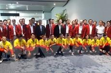 ASIAD 2018: Đoàn Thể thao Việt Nam đã có mặt tại Palembang