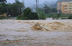 Lũ trên sông ở Thanh Hóa và Nghệ An tiếp tục lên, nguy cơ sạt lở đất