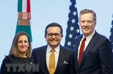 Mỹ lạc quan về khả năng đạt thỏa thuận thương mại với Mexico
