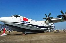 Trung Quốc thử nghiệm cất cánh thủy phi cơ lớn nhất thế giới