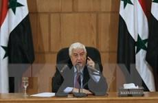 Ngoại trưởng Syria sẽ thăm chính thức nước Nga vào cuối tháng 8