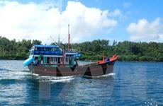 Tàu đánh cá nghi của ngư dân Việt Nam mắc cạn ở Australia