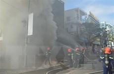 [Video] Cháy lớn tại một vũ trường ở trung tâm thành phố Đà Nẵng