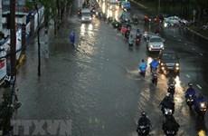 TP. HCM huy động nhiều máy bơm để chống ngập trong mùa mưa