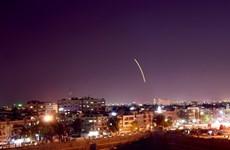 [Video] Syria đánh chặn một số tên lửa tấn công vào Latakia