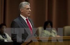 [Video] Chủ tịch Hội đồng Nhà nước Cuba Diaz-Canel tới Mỹ
