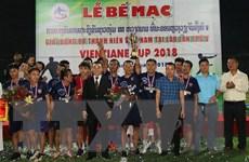 Bế mạc Giải bóng đá Thanh niên Việt Nam tại Lào lần thứ năm