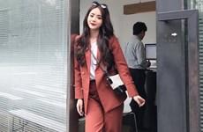 """Thu vừa sang, suit """"càn quét"""" trang phục xuống phố của quý cô Việt"""