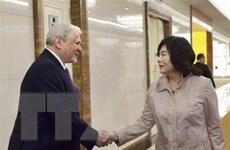 Ấn định thời gian hội đàm 3 bên Triều Tiên, Trung Quốc và Nga