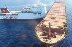 Pháp-Italy nỗ lực ngăn khoảng 600 tấn dầu loang trên Địa Trung Hải