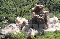 Nga-Trung-Triều kêu gọi biện pháp tương xứng đáp lại việc phi hạt nhân