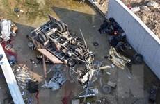 Xe tải lao xuống sông tại Thổ Nhĩ Kỳ, gần 20 người di cư tử vong