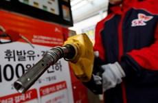 Hàn Quốc tuyên bố sẽ lần đầu giảm thuế xăng dầu sau 10 năm