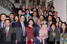 Thủ tướng Nguyễn Xuân Phúc gặp bà con cộng đồng người Việt tại Bỉ