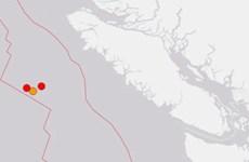 Bốn trận động đất liên tiếp làm rung chuyển bờ biển Tây Canada