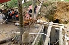 Lào Cai yêu cầu dừng hoạt động khai thác vàng trái phép tại Sa Pa