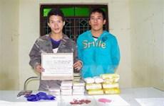Bắt 2 đối tượng người nước ngoài buôn 10 bánh heroin qua biên giới