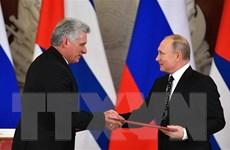 Nga-Cuba lên án các biện pháp trừng phạt đơn phương của Mỹ