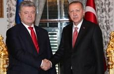 Thổ Nhĩ Kỳ-Ukraine thúc đẩy hợp tác thương mại, công nghệ quốc phòng