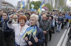 Ukraine chờ phản ứng của EU, Mỹ về cuộc bầu cử tại Donetsk và Lugansk