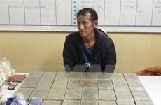 Công an tỉnh Sơn La bắt đối tượng vận chuyển 30 bánh heroin