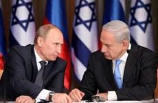 Lãnh đạo Israel-Nga gặp nhau lần đầu kể từ vụ bắn rơi máy bay