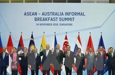 Việt Nam mong muốn Australia tiếp tục đẩy mạnh hợp tác với ASEAN