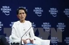 Cố vấn Nhà nước Myanmar Aung San Suu Kyi thăm chính thức Nepal