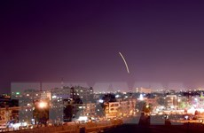 Syria đánh chặn thành công tên lửa nghi do Israel bắn
