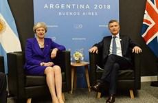 Anh và Argentina có cuộc gặp thượng đỉnh lịch sử bên lề G20