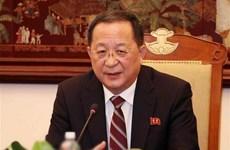 Ngoại trưởng Triều Tiên Ri Yong-ho sắp có chuyến thăm Trung Quốc