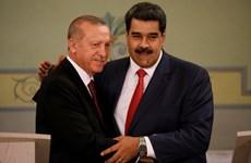 Venezuela và Thổ Nhĩ Kỳ ký nhiều thỏa thuận kinh tế, quốc phòng