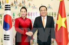 Chủ tịch Quốc hội kết thúc chuyến thăm chính thức Hàn Quốc