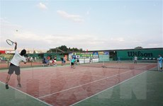 Sôi động giải quần vợt mùa Đông của người Việt tại Nga