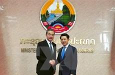 Lào và Trung Quốc thúc đẩy việc xây dựng hành lang kinh tế