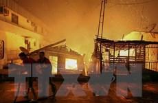 Brazil: Nổ nồi áp suất gây hỏa hoạn thiêu rụi 600 ngôi nhà tạm