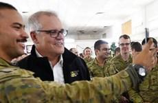 Thủ tướng Australia Scott Morrison lần đầu tiên công du Trung Đông