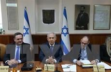Các thành viên liên minh cầm quyền tại Israel nhất trí bầu cử sớm