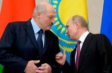 Lãnh đạo Nga-Belarus gặp nhau tìm sự nhất trí về giá nhiên liệu