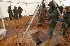 Israel phá hủy các đường hầm xuyên biên giới từ Liban của Hezbollah