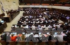 Quốc hội Israel nhất trí tổng tuyển cử trước thời hạn vào tháng 4