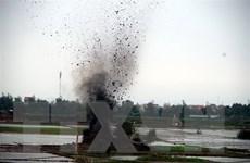 Hủy nổ an toàn 250 quả bom bi phát hiện trong nhà dân ở Hải Dương