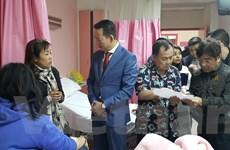 [Photo] Đại sứ Việt Nam tại Ai Cập thăm hỏi nạn nhân trong vụ đánh bom