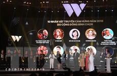 WeChoice Awards năm 2018: Tôn vinh người âm thầm cống hiến cho xã hội